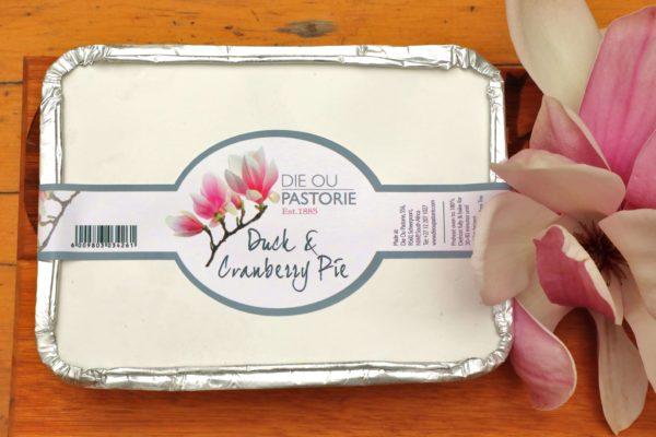 Duck _ Cranberry Pie – 600g